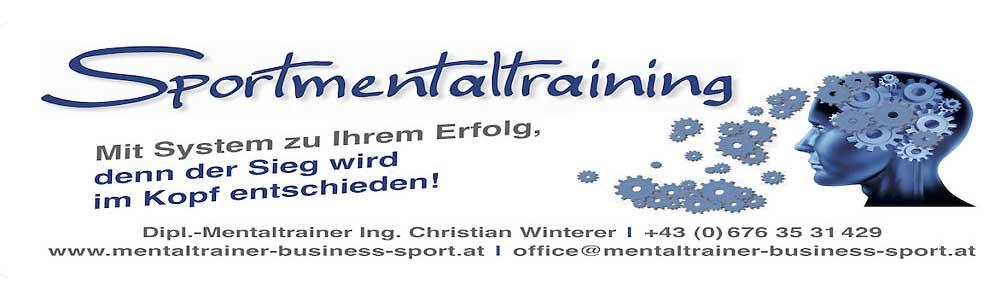 Mentaltraining Sportschützen Österreich/Wien & Deutschland/Bayern LOGO Ing. Christian Winterer Dipl. Oberösterreich Salzburg 1000 × 300